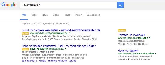 Google-Werbung-Immobilien-Makler