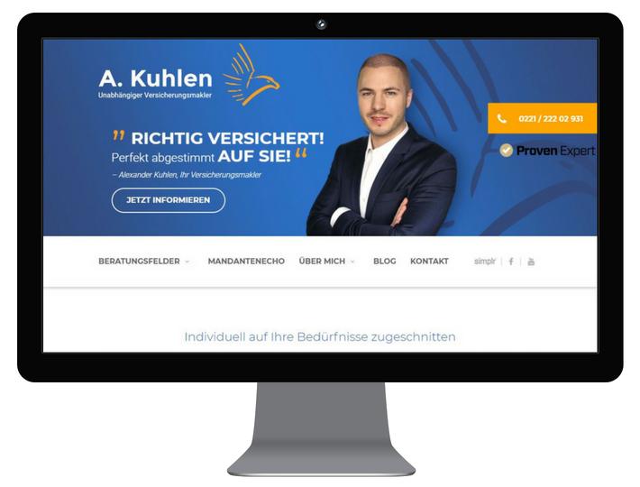 Versicherungsmakler Alexander Kuhlen